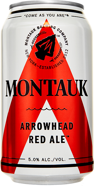 Arrowhead Red Ale Beer Can