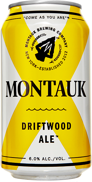 Driftwood Ale Beer Can