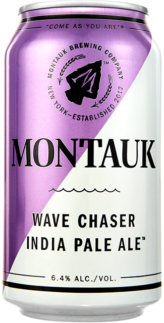 Wave Chaser India Pale Ale Beer Can
