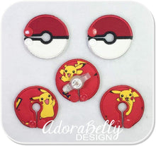 Load image into Gallery viewer, Pokemon Pokeball G tube Pad Tubie Cover Pikachu