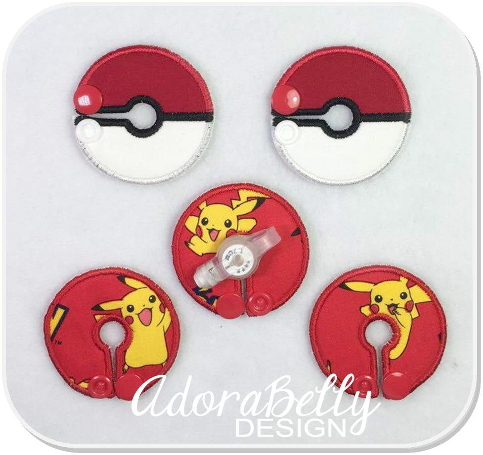 Pokemon Pokeball G tube Pad Tubie Cover Pikachu