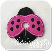 Load image into Gallery viewer, Ladybug Gtube Pad G Tube Cover Feeding Tube Covers