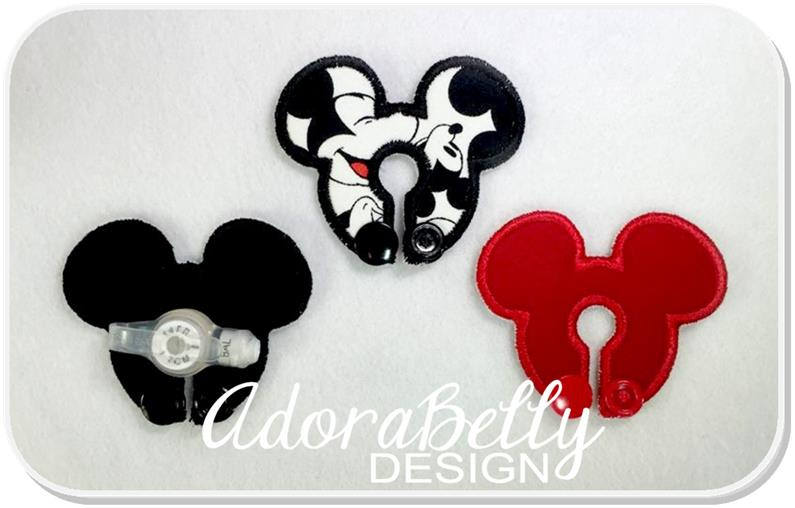 Mouse Shape G tube Covers Tubie Pad