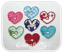 Load image into Gallery viewer, Heart Shape Tubie Cover (Gtube Pads G Tube Covers Feeding Tubes)