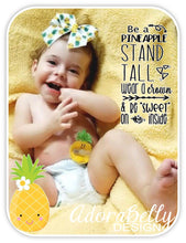Load image into Gallery viewer, Pineapple Shape Tubie Cover (G tube Covers  Gtube Pad)