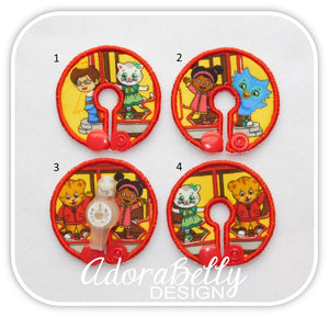 Daniel Tiger Tubie Cover (Gtube Pads G Tube Covers) O the Owl, Katerina Kittycat, Prince Wednesday, Miss Elaina