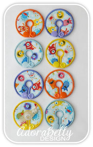 Monsters & Aliens Tubie Cover (Gtube Pads G Tube Covers)