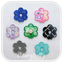 Load image into Gallery viewer, Flower Tubie Covers (Gtube Pads G Tube Cover) Flowers