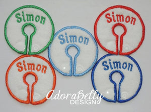 Personalized Name GTube Pads Tubie Covers