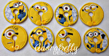 Load image into Gallery viewer, Minion Tubie Cover ( Gtube Pad)  Trach Pad