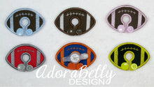 Load image into Gallery viewer, Football Shape Custom Gtube Covers Gtube Pads Tubie