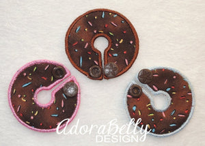 Sprinkles Gtube Pads G Tube Covers Chocolate Doughnut Cake Tubie