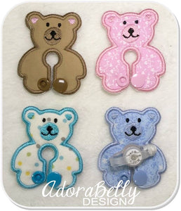 Teddy Bear Gtube Pad Tubie Cover