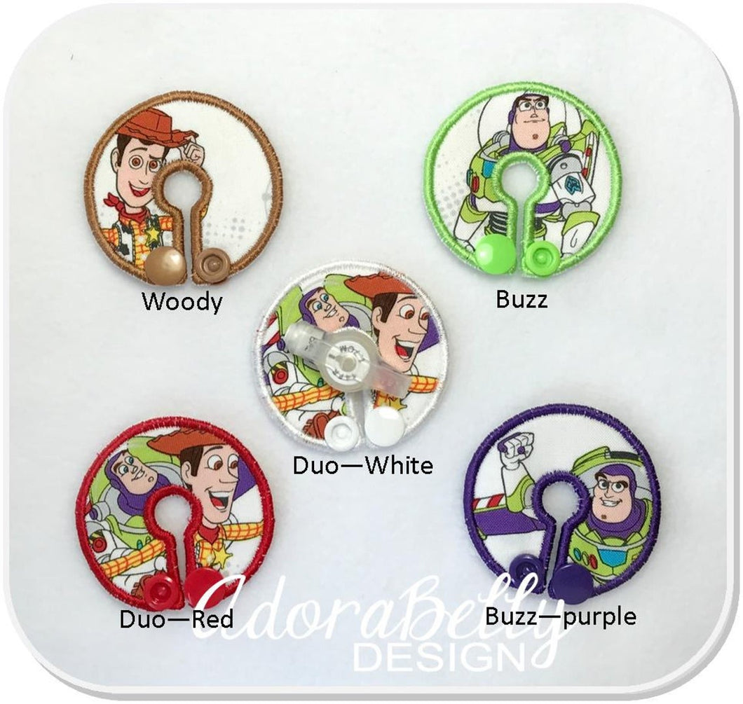 Toy Story Tubie Covers, Woody Buzz