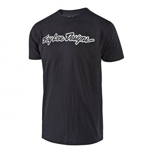 Playera Signature Black - Troy Lee