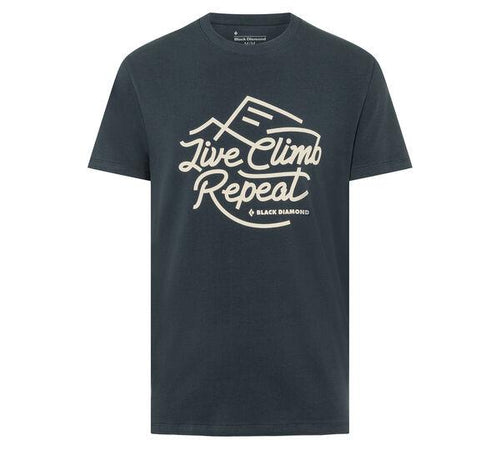Playera Live Climb Repeat - Black Diamond - Azimut Adventure
