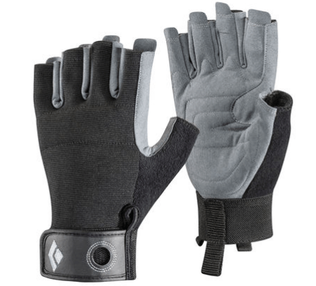 Guantes Crag Half-Finger - Black Diamond - Azimut Adventure