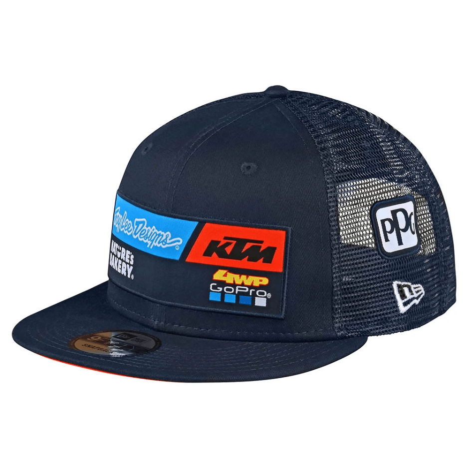 Gorra KTM Team Azul - Troy Lee
