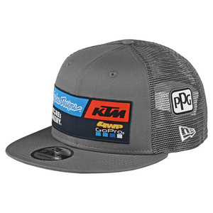 Gorra KTM Team Gris - Troy Lee - Azimut Adventure