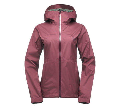 Chamarra Stormline Stretch Mujer - Black Diamond - Azimut Adventure