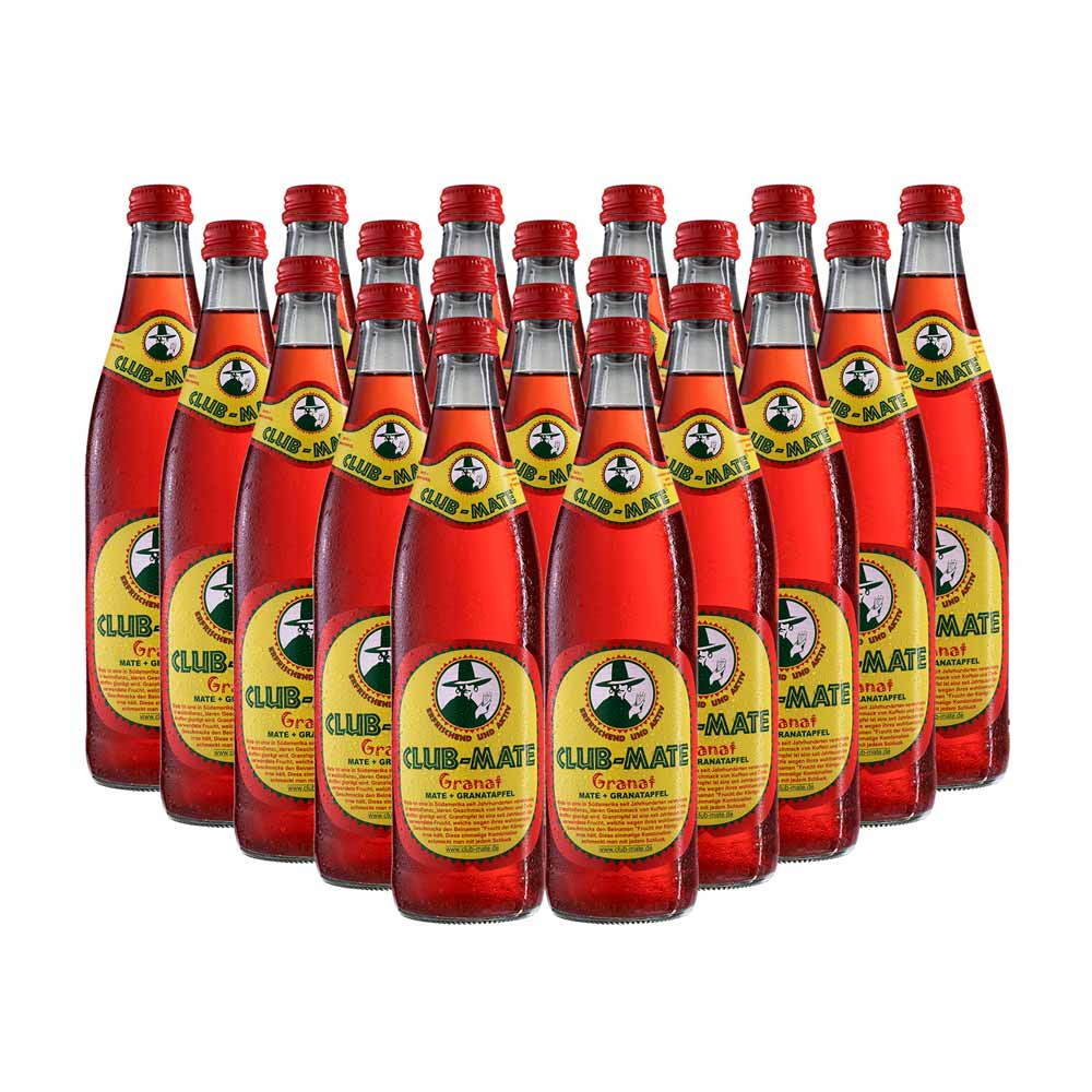 CLUB-MATE GRANADA 500ml (20 UNIDADES)
