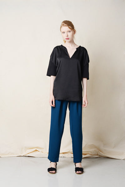 Yoke Puffed Sleeve Top
