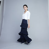 Asymmetrical Layered Skirt