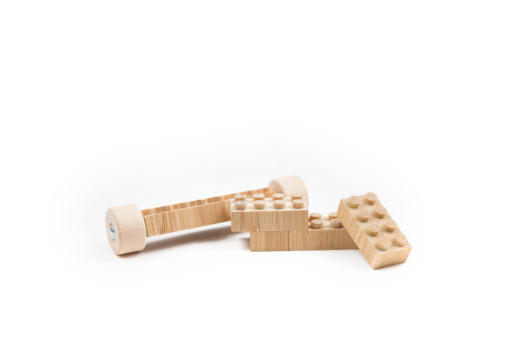 Eco-bricks ™ Bamboo Building Blocks