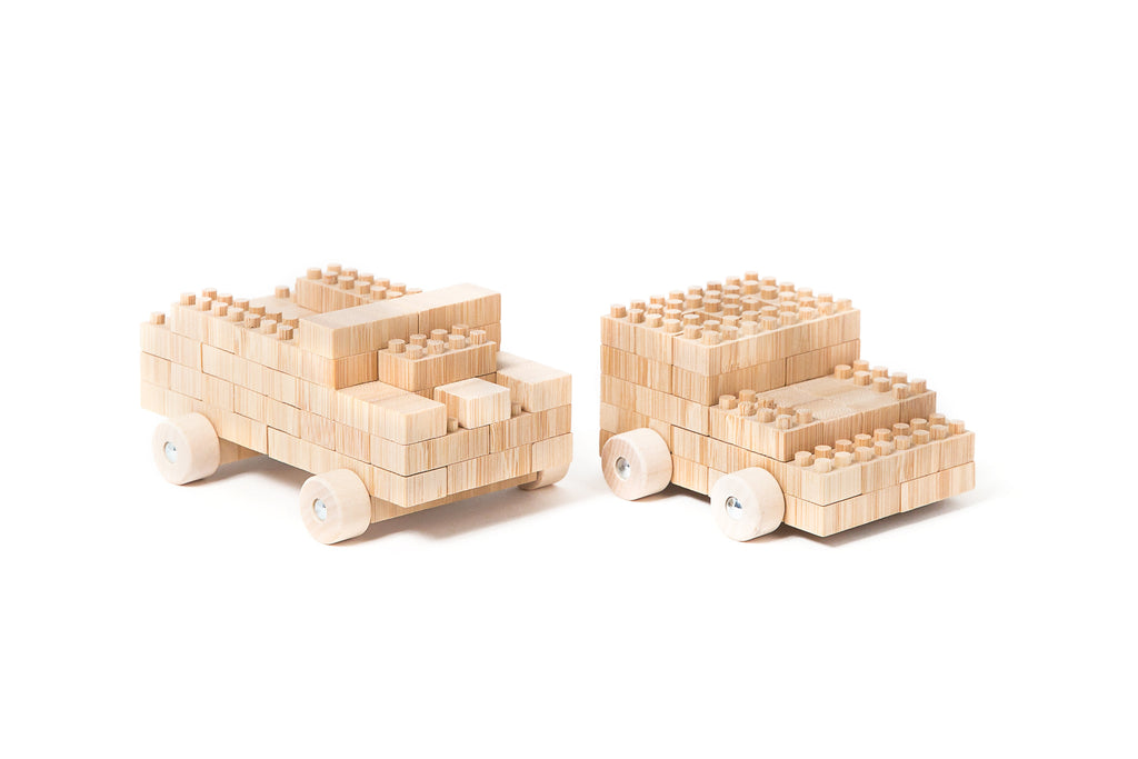 Eco-bricks™ Bamboo 250 Piece