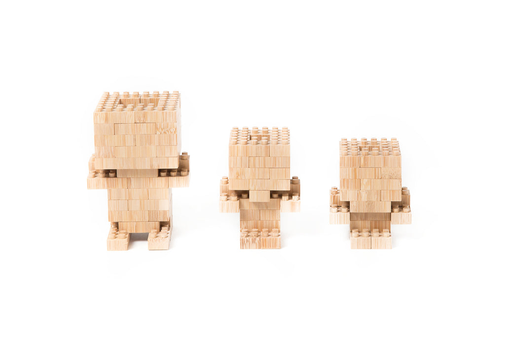 Eco-bricks™ Bamboo 90 Piece