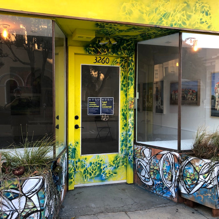 Mission Arts District.  Art House SF. Renee's
