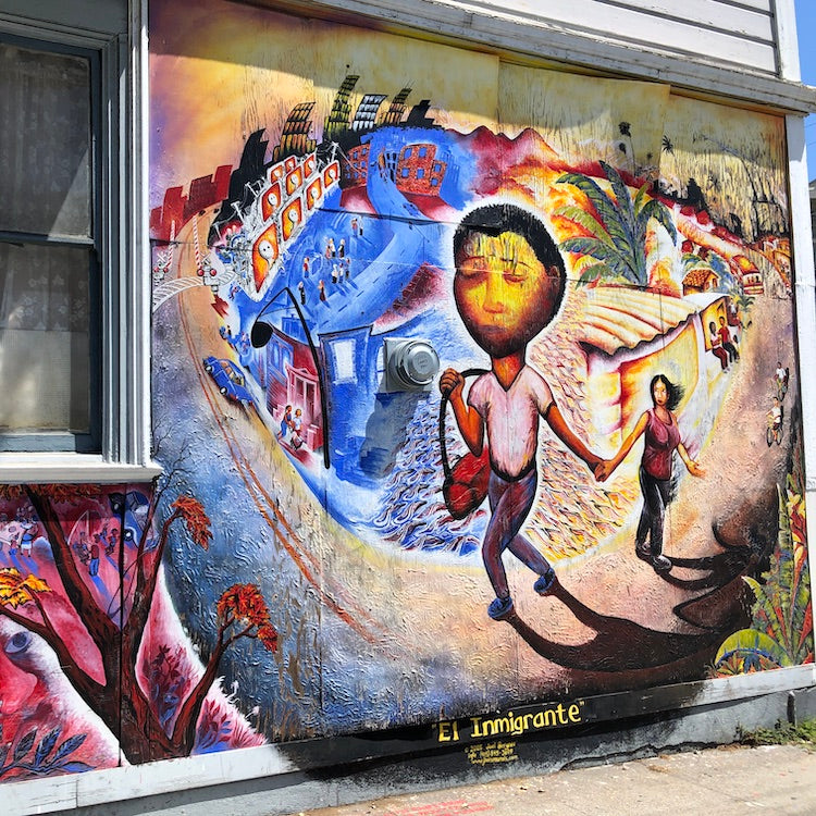 Mission District Arts. Mural