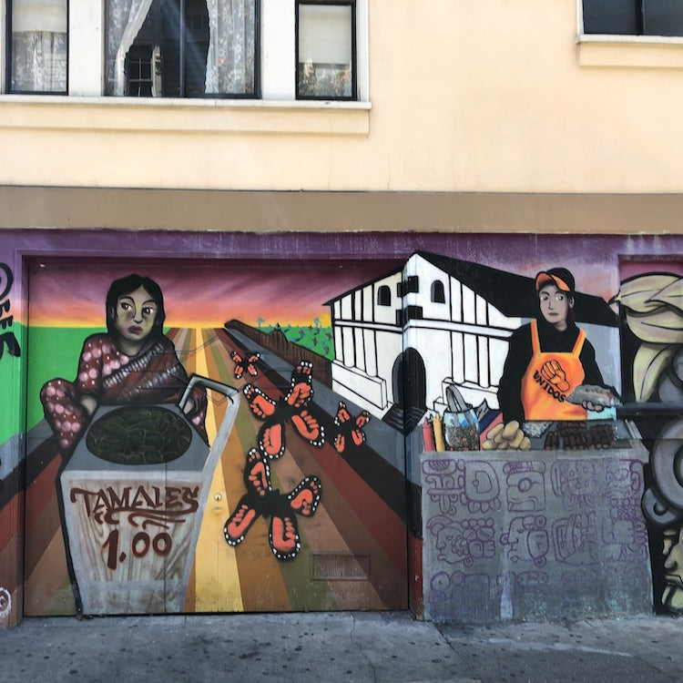 Mission District Arts. more murals