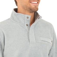 Load image into Gallery viewer, M Bamboo Polar Fleece Snap Pullover