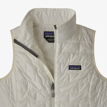 Load image into Gallery viewer, W Nano Puff Vest Birch White