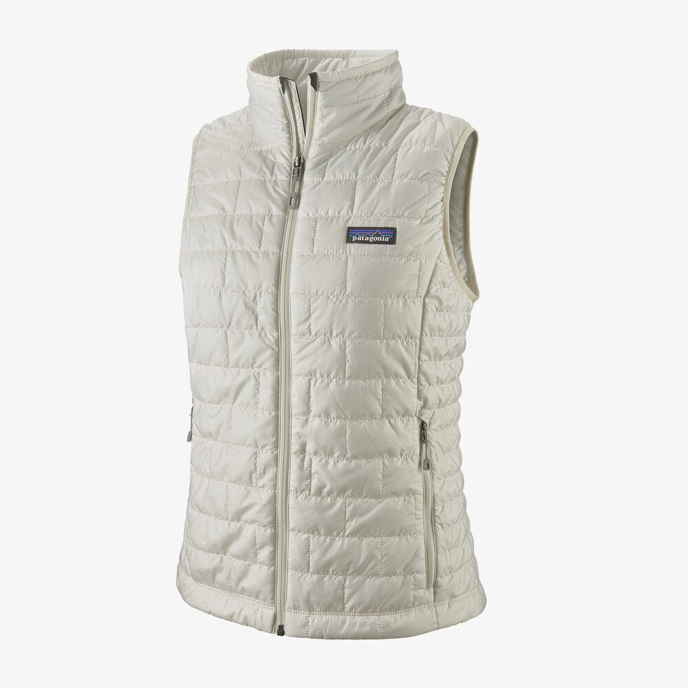 W Nano Puff Vest Birch White
