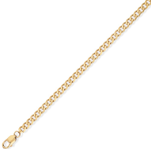 9ct Gold Premium Quality Curb Chain