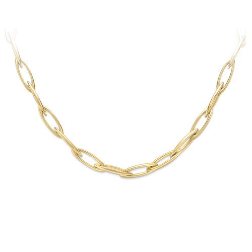 9ct Gold Contemporary Link Necklace