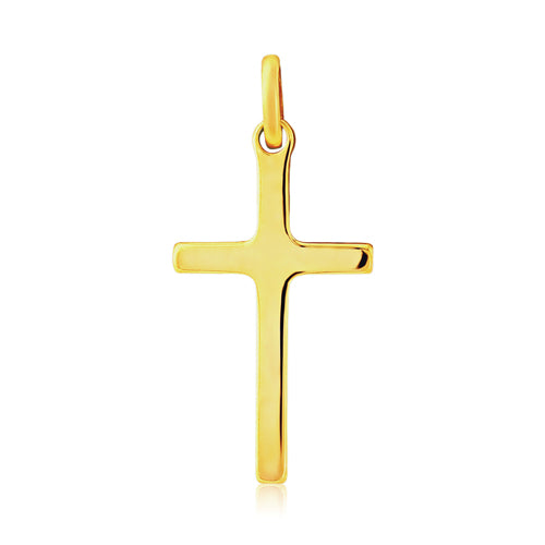 9CT Gold Solid Cross