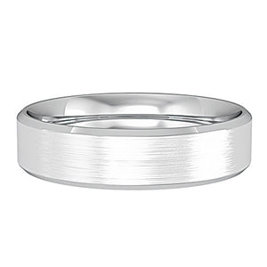 9ct Flat Court Wedding Band