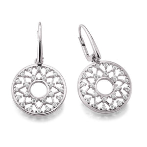 Silver Viventy CZ Drop Earrings