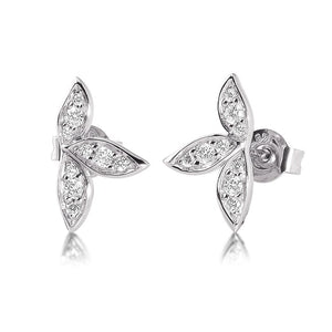 Silver Viventy CZ Earrings