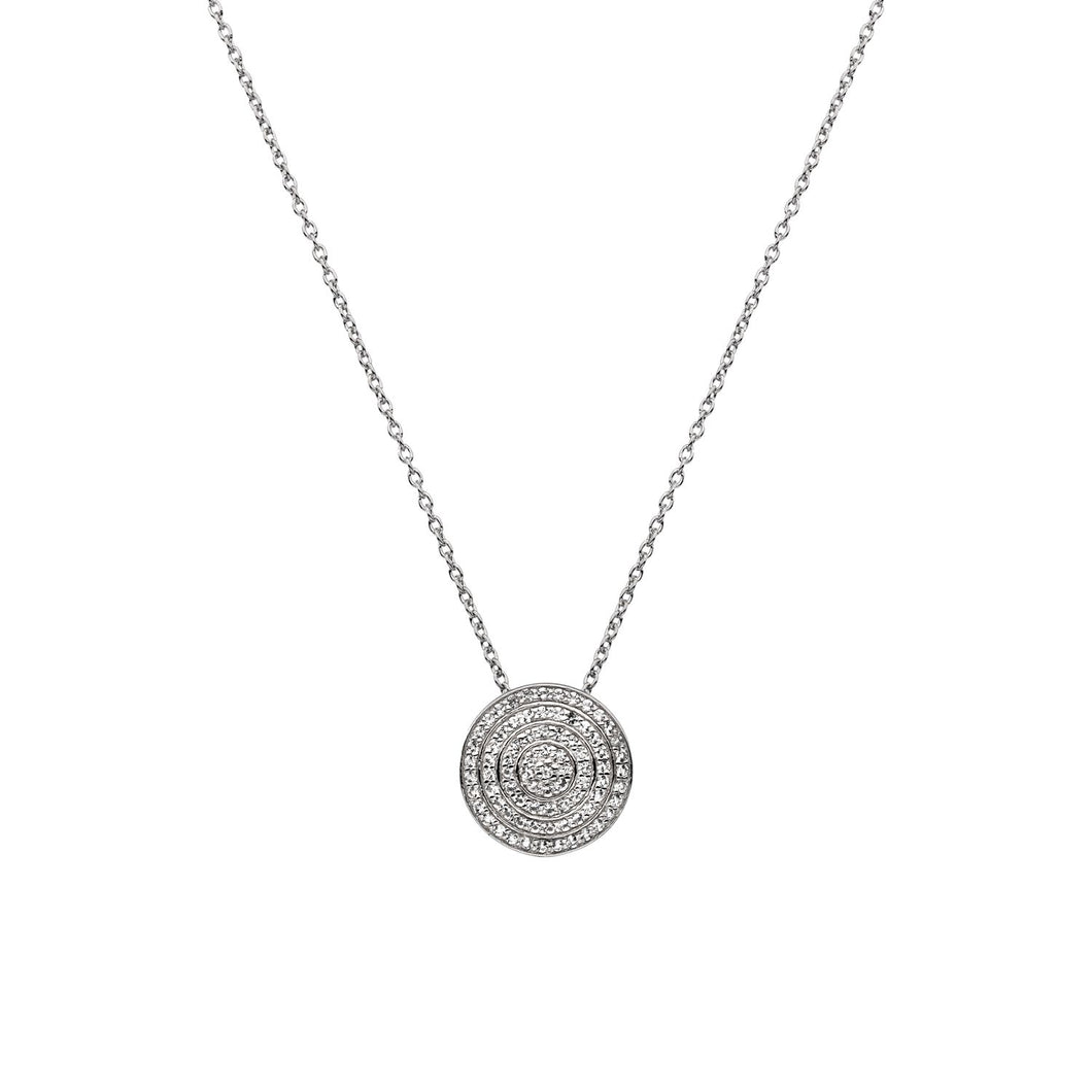 Silver Hot Diamonds Pendant