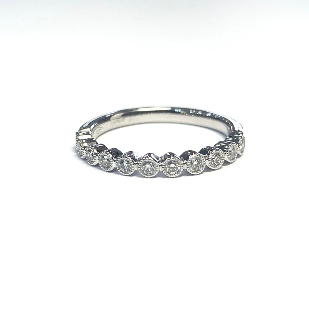 Tiffany Style Bubble Eternity Ring