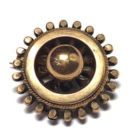Victorian 9ct Brooch