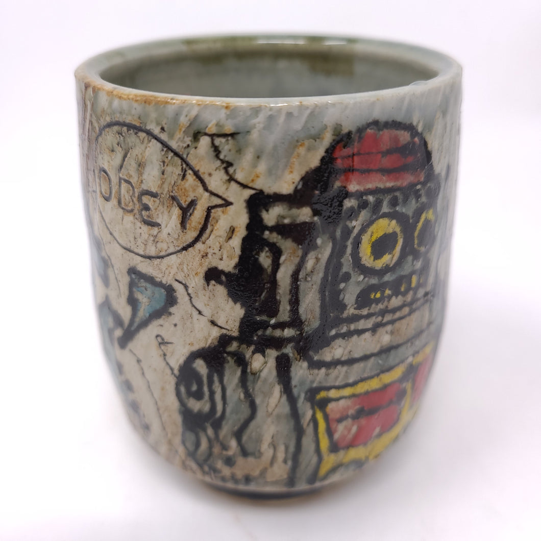 Cup, Yunomi Style #40 -Robot (538)