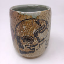 Load image into Gallery viewer, Cup, Yunomi Style #42  - Skull Raven (934)