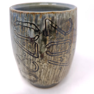 Cup, Yunomi Style #45  - Blue Bomb (2070720)