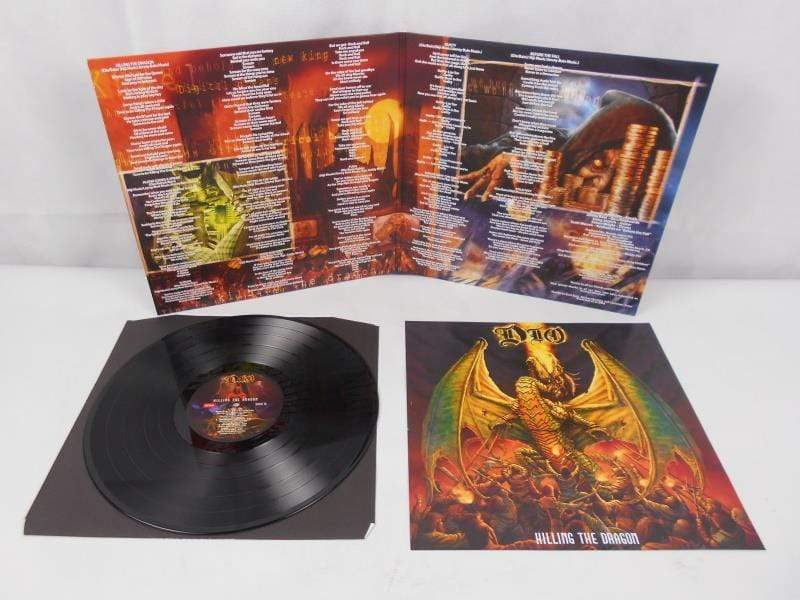 BMG Rights Management (UK) Ltd Vinyl Killing The Dragon [VINYL] - Dio