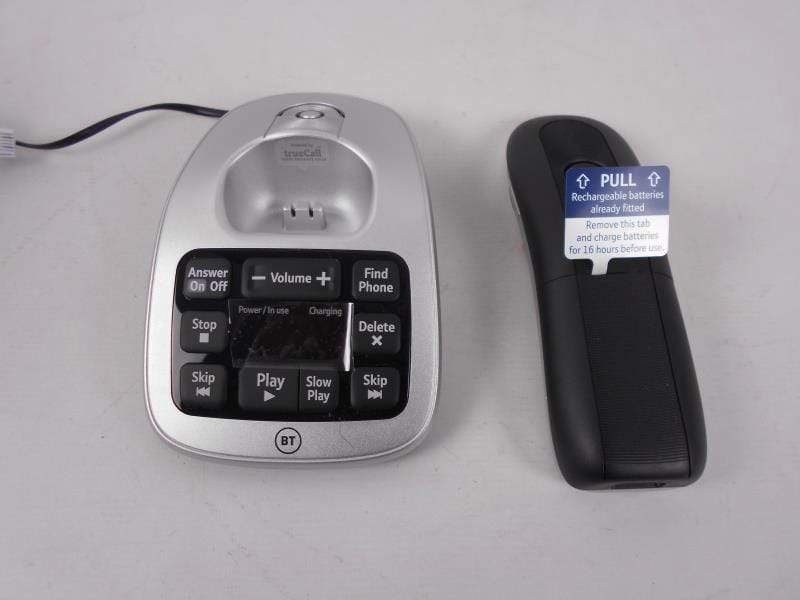BT Home Phone BT Big Button Advanced Call Blocker Cordless Home Phone with Answer Machine